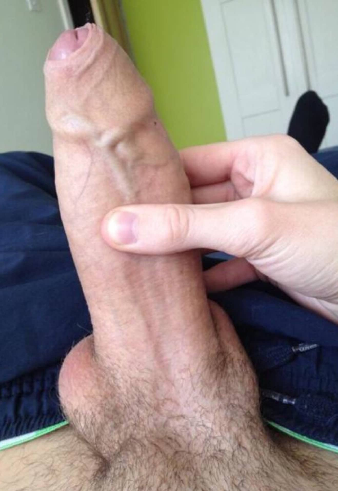 Close Up Huge Cock