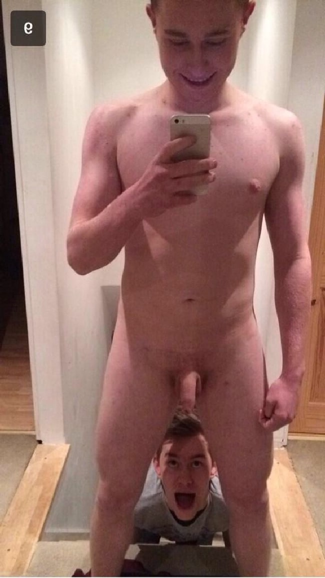 Nude Cute Guy With A Soft Penis