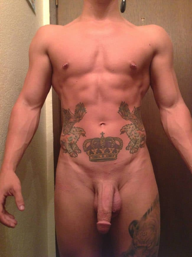 Nude Tattooed Stud